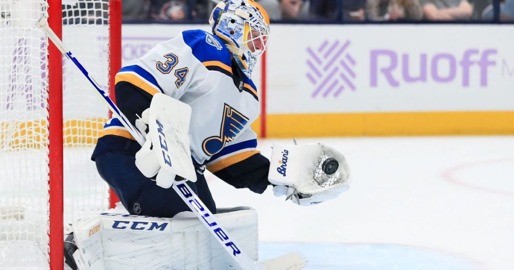 NHL Brouwer or Walker expected to make 2019 Blues debut tonight; Allen in net
