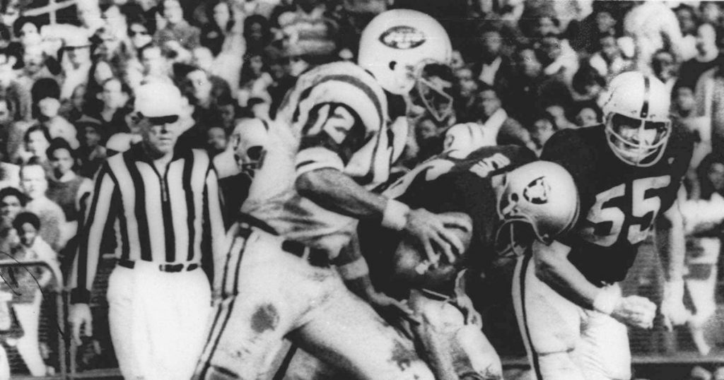 Football NFL At 100-AP Was There-The Heidi Game