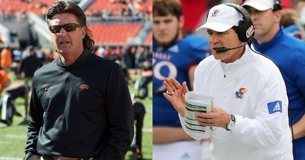 College football Former colleagues Gundy, Miles to face each other for first time