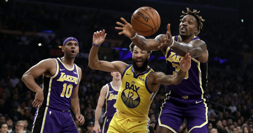 Lakers beat Warriors 120-94, improve to NBA-best 9-2