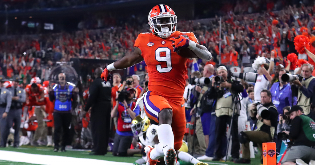 College football Will Travis Etienne be the best running back in college football this upcoming season?