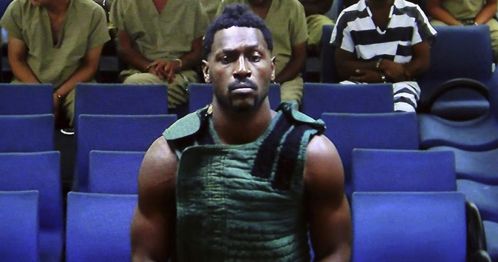 Football NFL star Antonio Brown gets probation for fight with driver