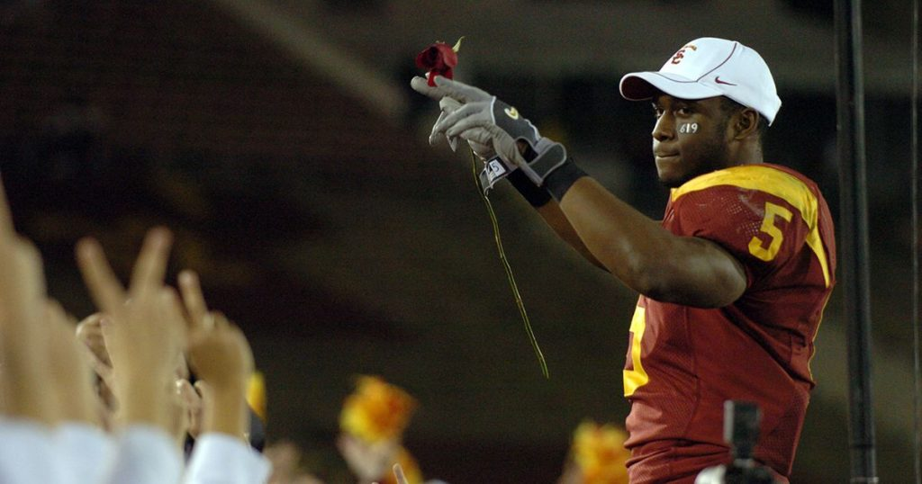 College football Reggie Bush is welcomed back into USC family after decade-long disassociation