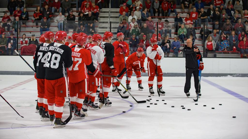 Red Wings 2020 Training Camp Relocated to Little Caesars Arena