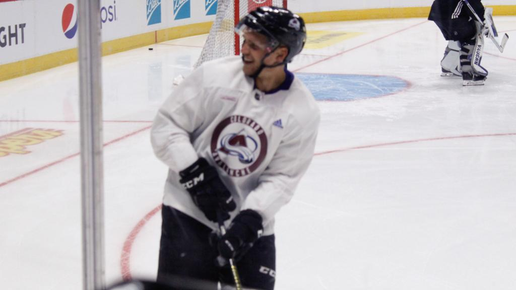 Rantanen skates with Avalanche for first time in Phase 2