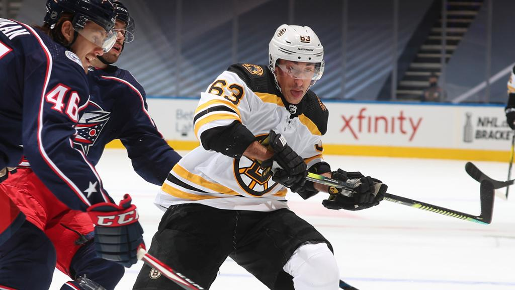 Marchand leaves Bruins loss to Blue Jackets in exhibition game