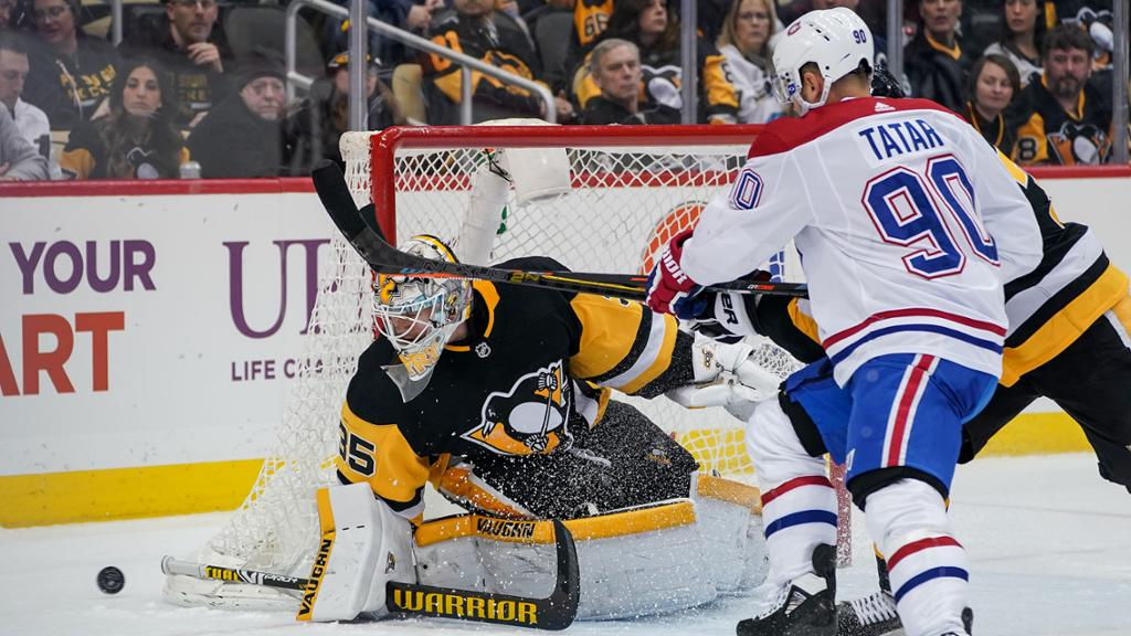 Jarry starts for Penguins against Canadiens in Game 4 of Qualifiers